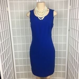 NWT THE LIMITED COBALT A-LINE SHIFT DRESS 2